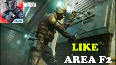 NEW GAME LIKE AREA F2 CQB STYLE GAMEPLAY ANDROID NEW RAINBOW SIX MIBILE LIKE AREA F2 2020