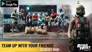 Rogue Heist Mobile TPS SHOOTER FROM INDIA Gameplay Android DOWNLOAD 2020