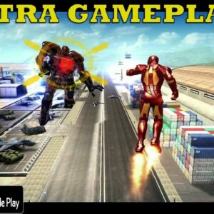 IRON MAN MOBILE ULTRA GRAPHICS GAMEPLAY OFFLINE 2020