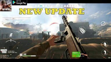 GHOST OF WAR BATTLEFIELD GAMEPLAY ANDROID ULTRA SETTING BIG UPDATE QUALITY  3 NEW MAP IMPROVE  2020