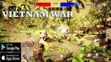 Red Storm : Vietnam War NEW TPS  FIRST LOOK ANDROID IOS GAMEPLAY 2020