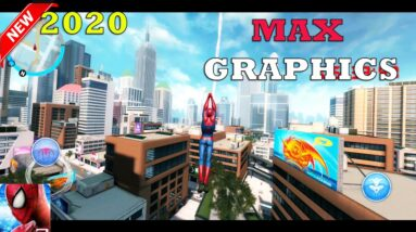 SPIDER MAN MOBILE  - MOD ULTRA GRAPHICS GAMEPLAY ANDROID 2020