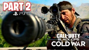 Call of Duty: Black Ops Cold War PS5 Campaign Gameplay Walkthrough, Part 2! (Ending)