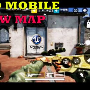 CS GO MOBILE GAMEPLAY ANDROID UNREAL ENGINE 4 NEW MAP UPDATE HIGH GRAPHICS BETA  2020