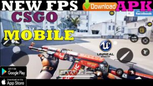 CSGO MOBILE GAMEPLAY ANDROID UNREAL ENGINE 4 LINK APK DOWNLOAD  NEW UPDATE HIGH GRAPHICS BETA  2020