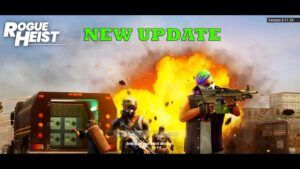 Rogue Heist Mobile NEW UPDATE TPS SHOOTER FROM INDIA Gameplay Android  2020