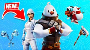FREE *FROST SQUAD* SKIN! Winning in Solos! (Fortnite)