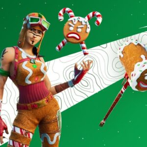 Gingerbread Renegade Raider! SOLO ARENA!! Winning in Solos! (Fortnite Season 5)
