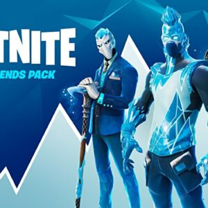 NEW FROST LEGENDS PACK! Winning in Solos! (Fortnite Season 5)
