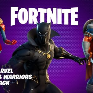 NEW MARVEL PACK! BLACK PANTHER Skin! (Fortnite Season 5)
