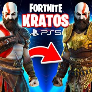 New PS5 *GOD OF WAR* KRATOS Skin in Fortnite! (Season 5)