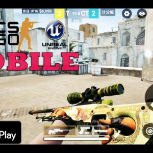 CSGO MOBILE GAMEPLAY ULTRA ANDROID UNREAL ENGINE 4 MAP DUST 2 FULL GAME  2020