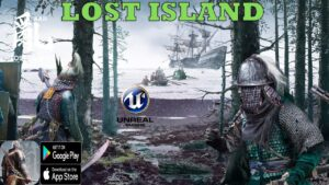 Chaos·Lost Island New OPEN  WORLD Gameplay Android/ios Trailer / Unreal engine 4 2021