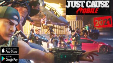 Just Cause Mobile Gameplay ANDROID IOS Official Trailer  Game Awards 2020
