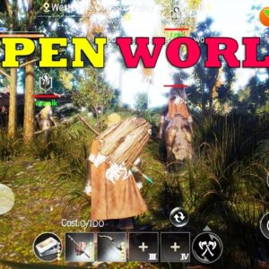 DARK AND LIGHT MOBILE GAMEPLAY IOS ANDROID NEW OPEN WORLD UNREAL ENGINE 4 GAME 2020