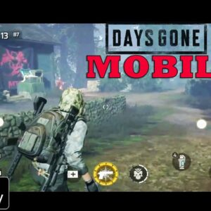Project:GAIA (Days Gone Mobile) Gameplay ANDROID-IOS LIKE CONSOLE UE4 DARK FOREST PART 3 2021