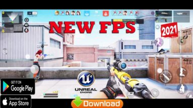 Elite Strike  Android Gameplay All Map+ALL MOD NEW OPEN BETA TEST FPS UNREAL ENGINE 4  2021