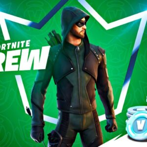 NEW CREW PACK! GREEN ARROW Skin! (Fortnite Season 5)