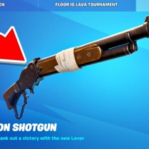 New *LEVER ACTION SHOTGUN* UPDATE in Fortnite!