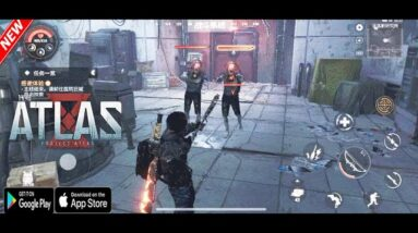 PROJECT ATLAS GAMEPLAY ANDROID IOS - LEAKS -PRE REGISTRE NOW 2021
