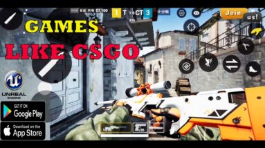TOP 12 BEST FPS COMPETITION GAMES LIKE CSGO IN MOBILE ANDROID IOS HIGH GRAPHICS OF THE YEARS 2021
