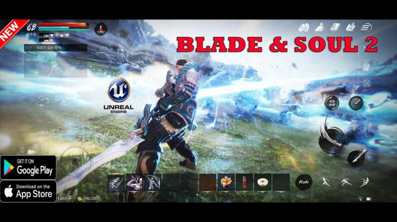 BLADE AND SOUL 2 GAMEPLAY TRAILER ANDROID IOS 2021