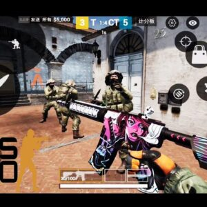 CS GO MOBILE GAMEPLAY ANDROID UNREAL ENGINE LATEST UPDATE 2021