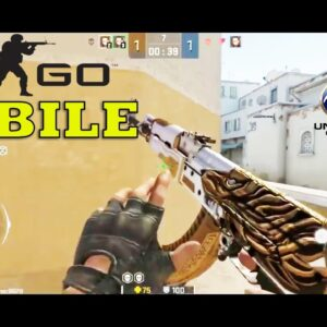 Global Offensive Mobile GAMEPLAY ANDROID LIKE CSGO MOBILE GAMEPLAY APKPURE LINK+ BEST PING  2021