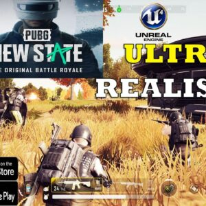 PUBG NEW STATE (PUBG MOBILE 2) GAMEPLAY ANDROID IOS TRAILER - PRE REGISTRE IN PLAYSTORE +NEWS 2021