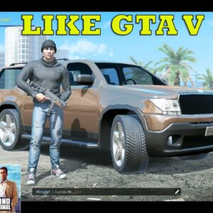 Grand Criminal Online GAMEPLAY ANDROID -OPEN WORLD NEW GAME LIKE GTA V PLAY SOLO-SQUAD-ONLINE 2021