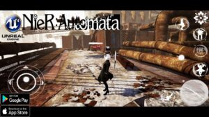 Nier Automata Mobile Unreal Engine 4 ANDROID GAMEPLAY OFFLINE 2021