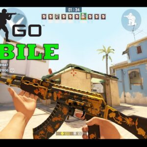 Global Offensive Mobile GAMEPLAY ANDROID LIKE CSGO MOBILE GAMEPLAY TEST MAPS 2021