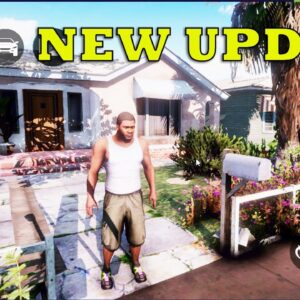 GTA V MOBILE ANDROID GAMEPLAY UPDATE 0.4 FULL MAP NEW CAR AND MORE 2021