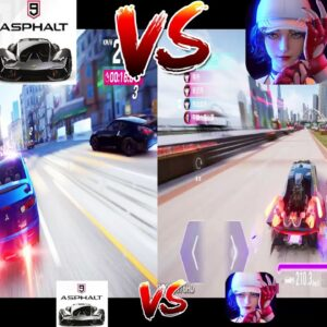 ASPHALT 9 VS ACE RACER GAMEPLAY  COMPARISON HIGH GRAPHICS 2021