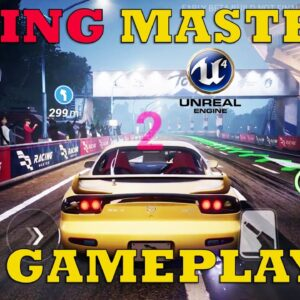 Racing Master GAMEPLAY OFFICIAL ANDROID IOS Next Gen Real World Racing Game UNREAL ENGINE 4  2021