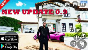 GTA V MOBILE ANDROID GAMEPLAY UPDATE 0.9 FULL MAP NEW CAR AND MORE 2021