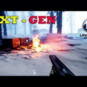 New FPS Game Android Gameplay Next-Gen Open World OFFLINE - Beta  (Unreal Engine 4) 2021