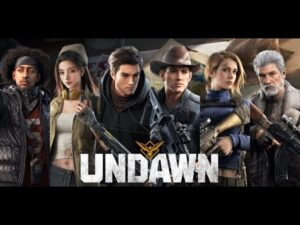 UNDAWN GAMEPLAY ANDROID IOS BY TENCENT RELEASE GLOBALE - MOD PVE FEATURES IN GAME HIGH GRAPHICS 2021
