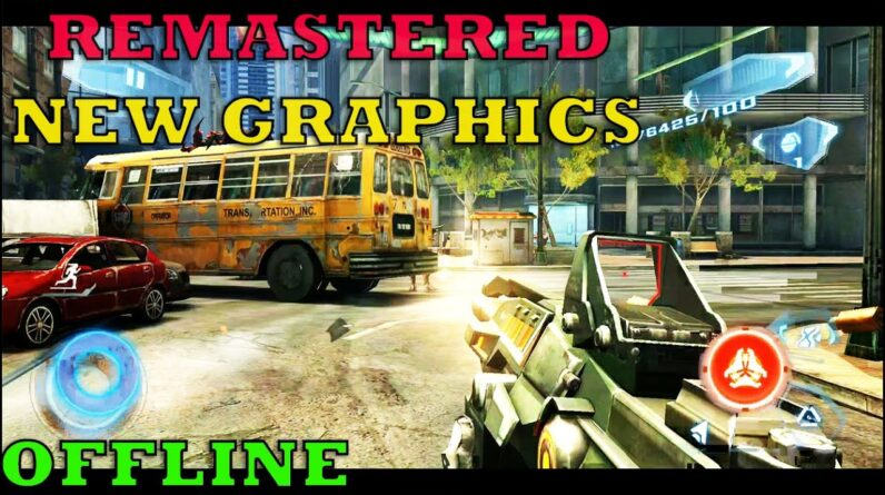 AMAZING FPS HD GAME OFFLINE STORY GAMEPLAY ANDROID  Max Graphics Enabled 2021