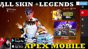 APEX LEGENDS MOBILE ALL CHARACTERS SKIN AND ALL WEAPONS SHOWCASE +GAMEPLAY ANDROID 2021