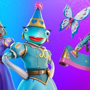 New PRINCESS FISH Skin!! Solo Cash Cup! (Fortnite Battle Royale)