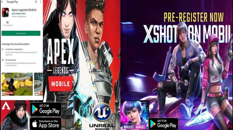 Apex Legends Mobile Pre REGISTRE ALL COUNTRIES TO GET BETA +BULLET ANGEL +My Hero Academia English😻