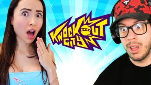 Playing DODGEBALL with My Girlfriend! (Knockout City)