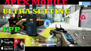 APEX LEGENDS MOBILE FPP  Gameplay LIFELINE SOLO SQUADE ANDROID 2021