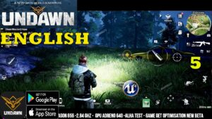 UNDAWN ENGLISH GAMEPLAY ANDROID MAIN STORY PART 5 MAX GRAPHICS SURVIVE IN BIG WORLD 2021