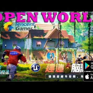 Our Planet Trailer Gameplay Android IOS Space Exploration  Mobile TENCENT GAMES Unreal Engine 4 2021