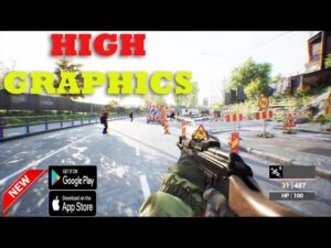 TOP 20 BEST NEW FPS TPS ACTION GAMES ANDROID IOS  OFFLINE ONLINE  WITH BEST GRAPHICS  2021