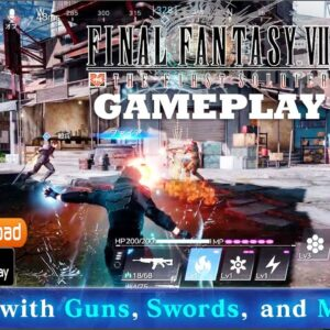 FINAL FANTASY VII THE FIRST SOLDIER GAMEPLAY ANDROID - PRE REGISTRE PLAYSTORE BETA DOWNLOAD 2021