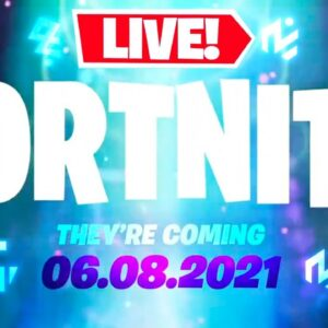 🔴LIVE! SEASON 7 COUNTDOWN!! THEY'RE COMING! 👽 (Fortnite)