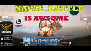 UNDAWN  NAVAL BATTLE GAMEPLAY ANDROID IOS BEST OPEN WORLD REALISTIC GAME IN MOBILE UE4 2021